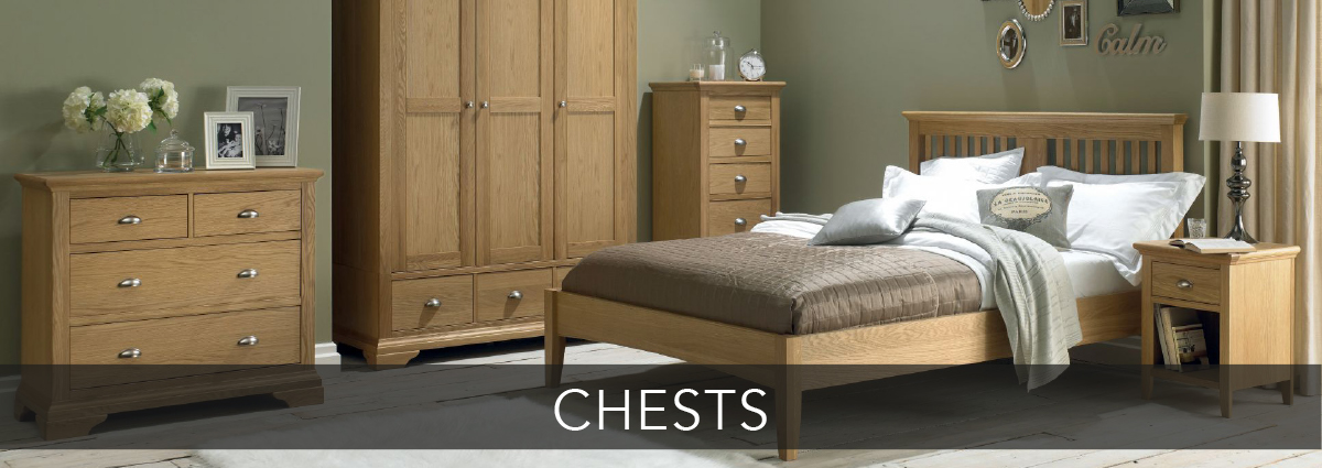 Bedrooms dept banners chests