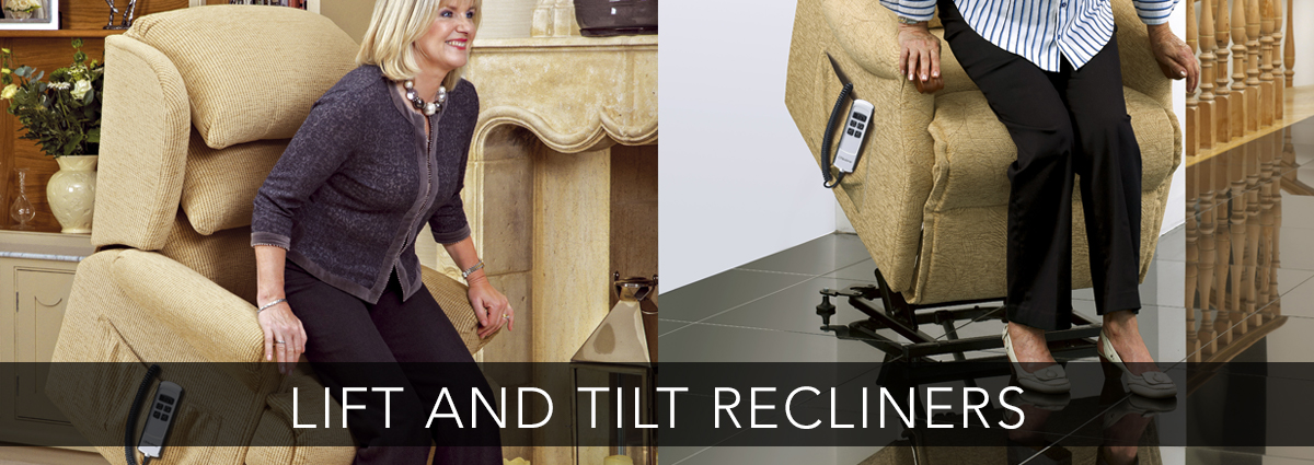 Edmondsons upholstery banner fabric lift and tilt