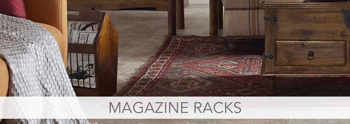 Magazine racks banner