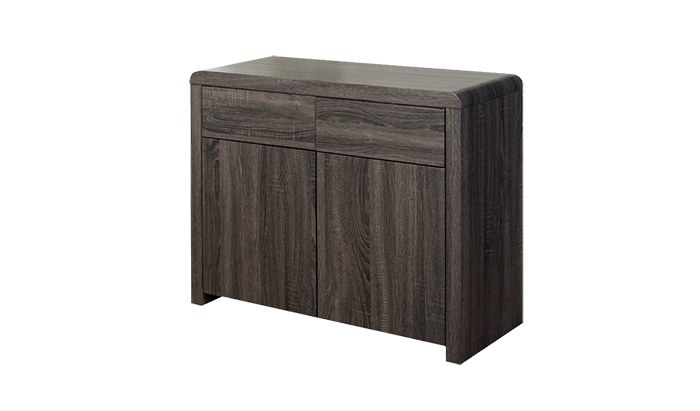 2 Door Sideboard Charcoal