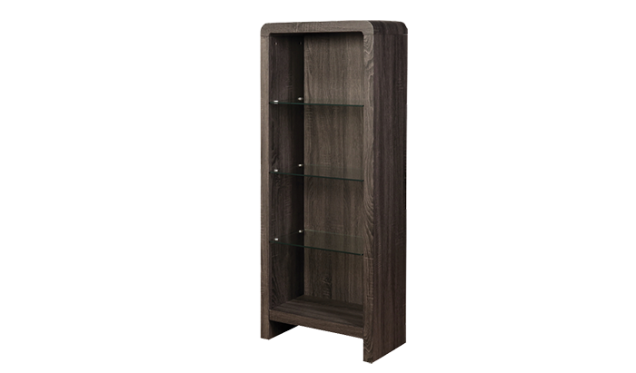 Bookcase in Charcoal Finish