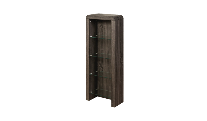DVD Storage Unit Charcoal