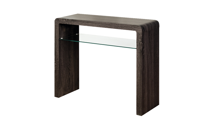 Medium  Console Table  Charcoal