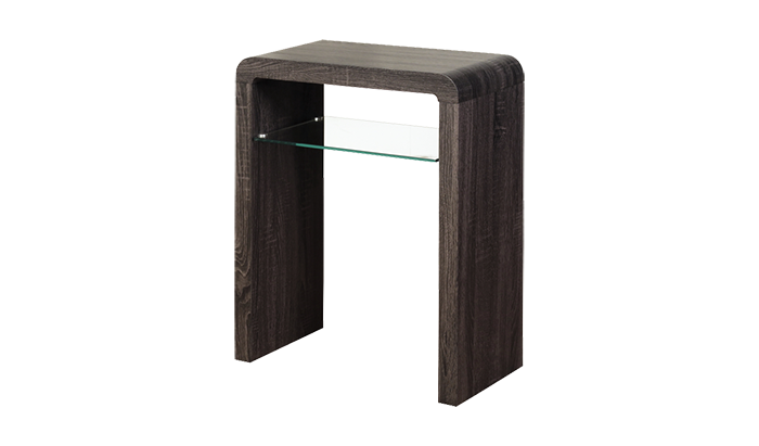 Small Console Table Charcoal