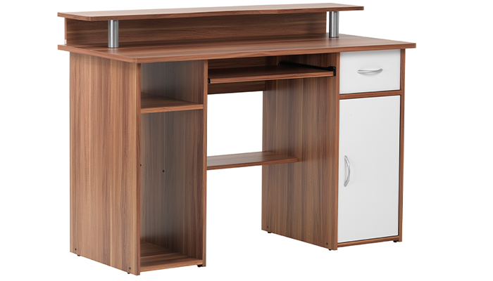 Deal Of The Week Albany Desk in WALNUT Finish