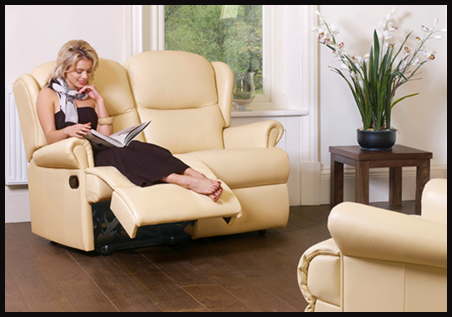 2 Seater Manual Recliner Sofas