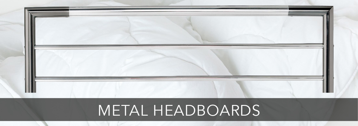 Bedrooms dept banners metal headboards