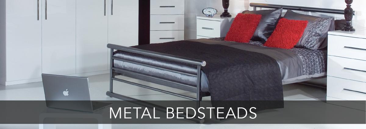 Beds dept banners metal bedsteads