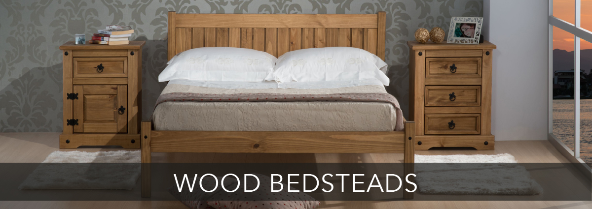 Beds dept banners wood bedsteads