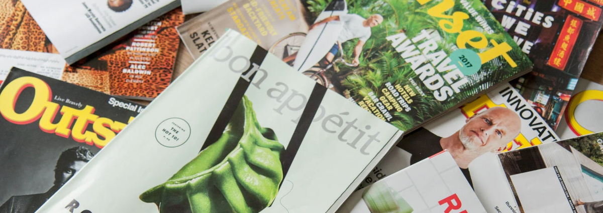 Magazine Racks...