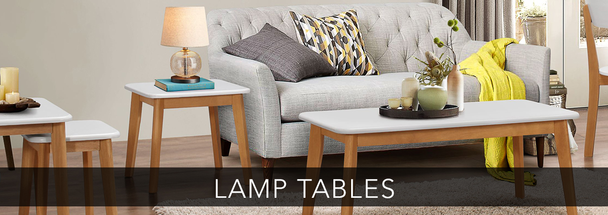 Edmondsons dining banner lamp tables