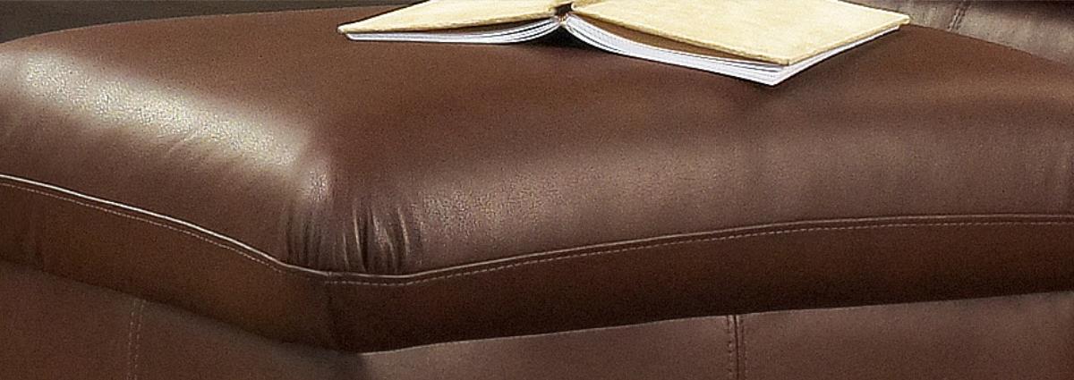 Leather Footstools...